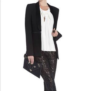 BCBG Black Long Blazer